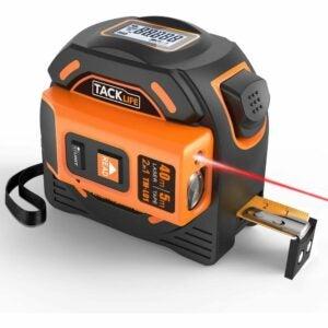 The Best Laser Measure Option: TACKLIFE Laser Tape Measure 2-in-1 131 Ft