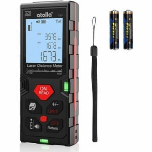 The Best Laser Measure Option: atolla Laser Distance Meter
