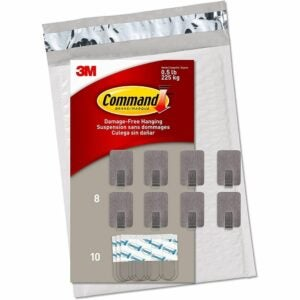 The Best Nails for Hanging Pictures Option: Command Small Stainless Steel Hooks