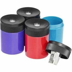 The Best Pencil Sharpener Option: STAEDTLER pencil sharpener with screw-on lid