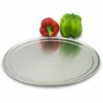The Best Pizza Pan Option: American Metalcraft TP14 Wide-Rim Pan