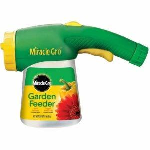 最好的植物食物选择:Miracle-Gro Garden Feeder