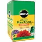 最好的植物食物:Miracle-Gro水溶性万能植物食物