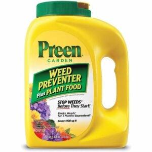 最好的植物食品选择:PREEN 2164116植物食品杂草预防