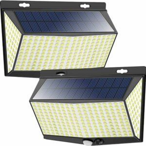 最佳太阳能泛光灯选项:Nacinic LED太阳能运动传感器灯