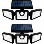 最佳太阳能泛光灯选择:Otdair太阳能安全运动传感器泛光灯