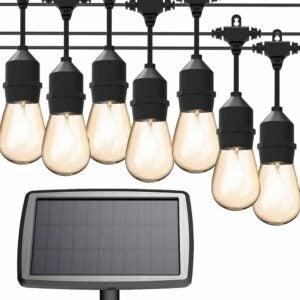 The Best Solar String Lights Option: MagicPro Solar String Lights