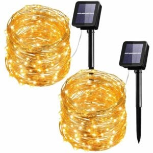 The Best Solar String Lights Option: Mpow Solar String Lights