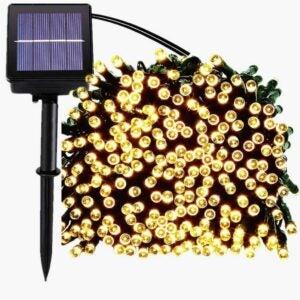 The Best Solar String Lights Option: SUPSOO Solar Christmas Lights