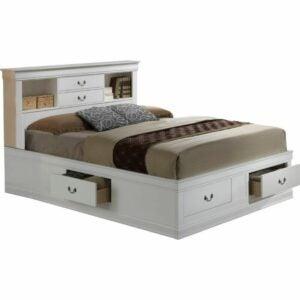 The Best Storage Beds Option: Birch Lane Darfur Storage Platform Bed