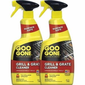 The Best Stove Top Cleaner Option: Goo Gone Grill and Grate Cleaner