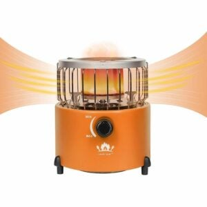 The Best Tent Heater Option: Campy Gear 2 in 1 Portable Propane Heater & Stove
