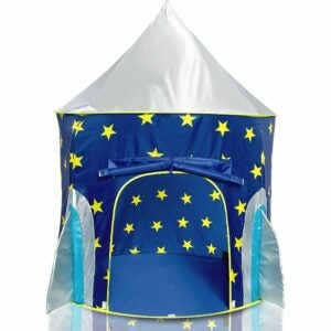 The Best Tents for Kids Option: USA Toyz Rocket Ship Play Tent for Kids