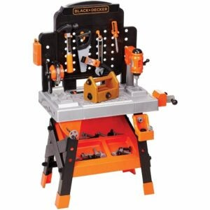 The Best Tools for Kids Option: BLACK+DECKER Power Tool Workshop - Play Toy Workbench