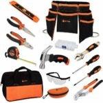 儿童最佳工具选择:JoyTown儿童真正的工具集-初级钢锻造