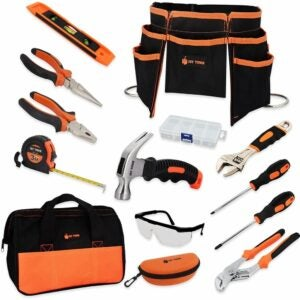 The Best Tools for Kids Option: JoyTown Kids Real Tool Set - Junior Steel Forged