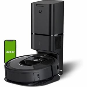 The Best Vacuum for Hardwood Floors Option: iRobot Roomba i7+ Robot Vacuum