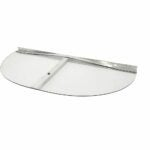 The Best Window Well Covers Option: Ultra Protect Elongated Clear Polycarbonate Cover