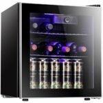 The Best Wine Coolers Option: Antarctic Star Wine Cooler Beverage Refrigerator