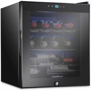 The Best Wine Coolers Option: Ivation 12 Bottle Compressor Wine Cooler