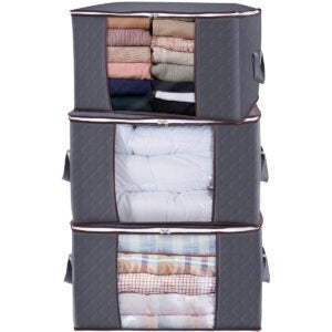 Best Storage Bins Options: Lifewit Large Capacity Clothes Storage Bag Organizer