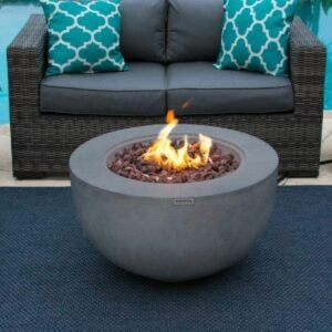 The Best Gas Fire Pit Option: AKOYA Outdoor Essentials Outdoor Fire Pit Bowl