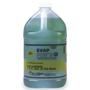 Best HVAC Coil Cleaner Options: Nu-Calgon 4168-08 Evap Pow'r No Rinse Coil Cleaner