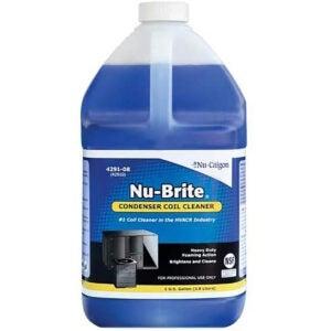 最佳HVAC线圈清洁剂选项:Nu-Calgon 4291-08 Nu-Brite,1-加仑