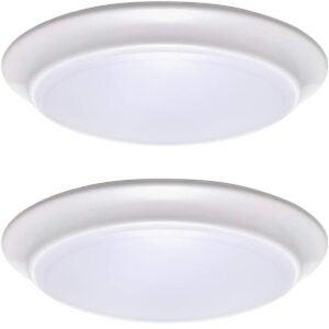 Best LED Ceiling Light Options: LIT-PaTH LED Flush Mount Ceiling Lighting Fixture