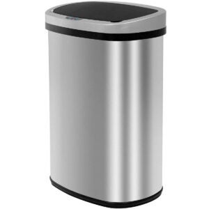 最佳浴室垃圾桶选项:自动厨房垃圾桶