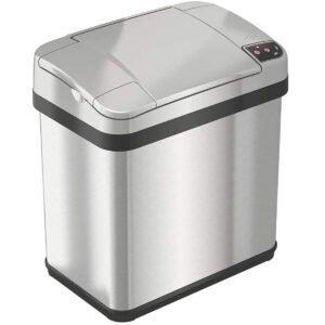 最好的浴室垃圾桶可以选择:无论如何2.5加仑浴室触摸垃圾桶