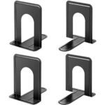 Best Bookends Options: MaxGear Book Ends Universal Premium Bookends