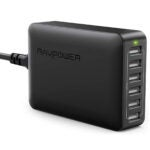 Best Charging Station Options: USB Charger RAVPower 60W 12A 6-Port Desktop