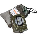 Best Compass Options: AOFAR Military Compass AF-4580 Lensatic Sighting Navigation