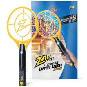 Best Fly Swatter Options: ZAP IT! Bug Zapper Rechargeable Mosquito