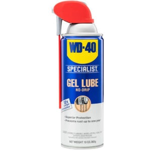 Best Garage Door Lubricant Options: WD-40 Specialist Gel Lube with SMART STRAW SPRAYS