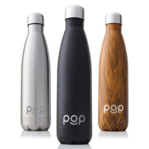 Best Insulated Water Bottle Options: POP Design Stainless Steel Vacuum Insulated Water Bottle