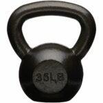 The Best Kettlebells Option: AmazonBasics Cast Iron Kettlebell Weight