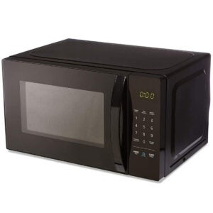 Best Kitchen Appliances Options: AmazonBasics Microwave, Small, 0.7 Cu. Ft