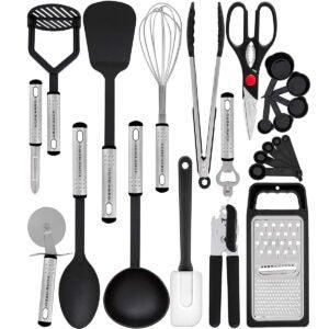 Meilleures options d'ensemble d'ustensiles de cuisine: Ensemble d'ustensiles de cuisine Home Hero