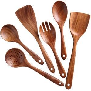 Meilleures options d'ensemble d'ustensiles de cuisine: Ensemble d'ustensiles de cuisine, NAYAHOSE