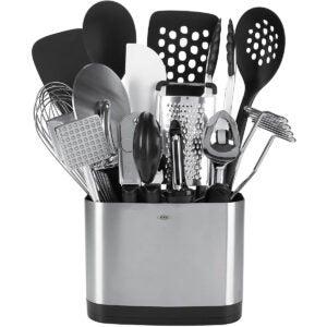 Meilleures options d'ensembles d'ustensiles de cuisine: OXO Good Grips 15 pièces de cuisine de tous les jours