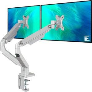Best Monitor Arm Options: EleTab Dual Arm Monitor Stand