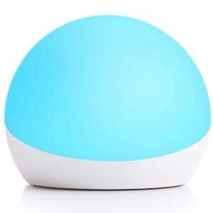 儿童选择的最佳夜灯选择:echo发光 - 儿童多色智能灯