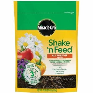 The Best Plant Food Option: Miracle-Gro Shake 'N Feed All Purpose Plant Food