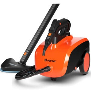 Best Portable Carpet Cleaner Options: COSTWAY Multipurpose Steam Cleaner