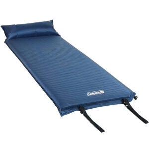 Best Sleeping Pad Options: Coleman Self-Inflating Camping Pad with Pillow