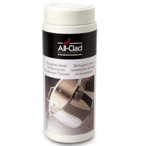 Best Stainless Steel Cleaner Options: All-Clad 00942 Cookware Cleaner and Polish