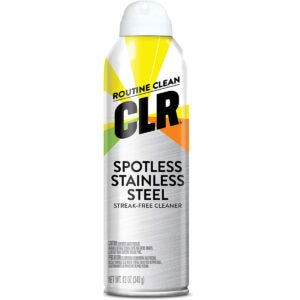 Best Stainless Steel Cleaner Options: CLR Spotless Stainless Steel