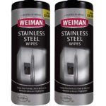 Best Stainless Steel Cleaner Options: Weiman Stainless Steel Cleaner Wipes
